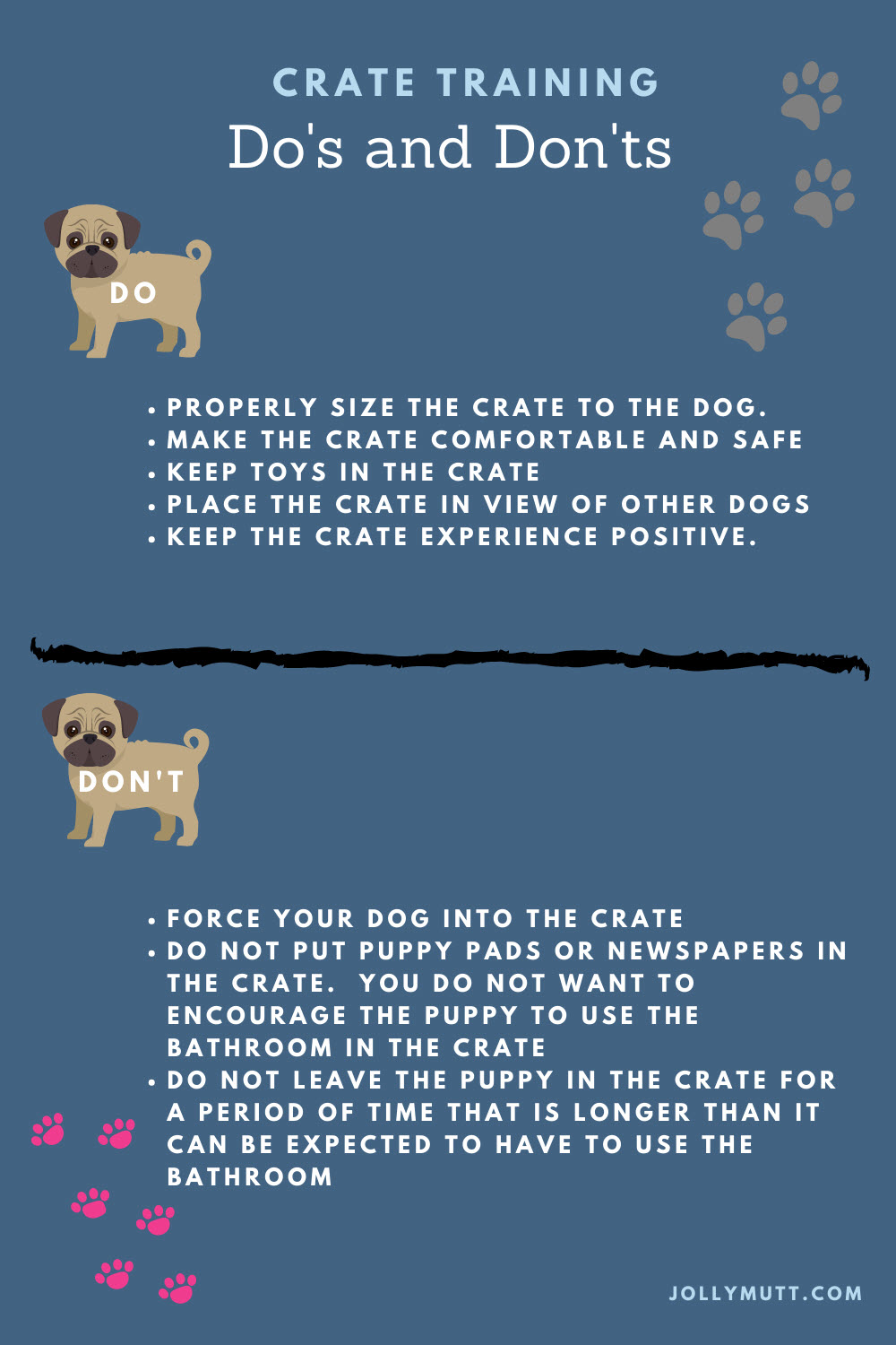 Crate Training dos and don'ts